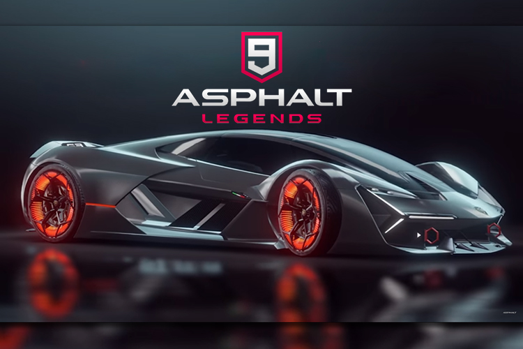 Play Asphalt 9 And Win A Chance To Experience Lamborghini S Concept