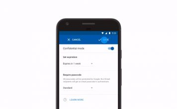 confidential mode gmail android