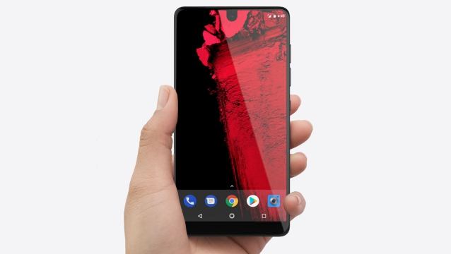 Essential PH-1, the first smartphone with a notch