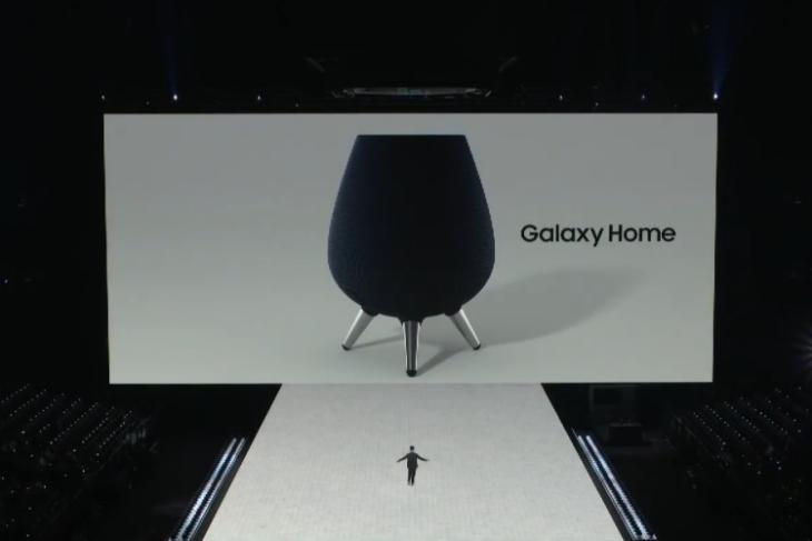 galaxy home smart speaker bixby launched