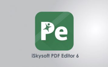 iSkysoft PDF Editor 6- A Powerful PDF Editor for Mac