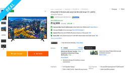 iffalcon tv smart flipkart deal web