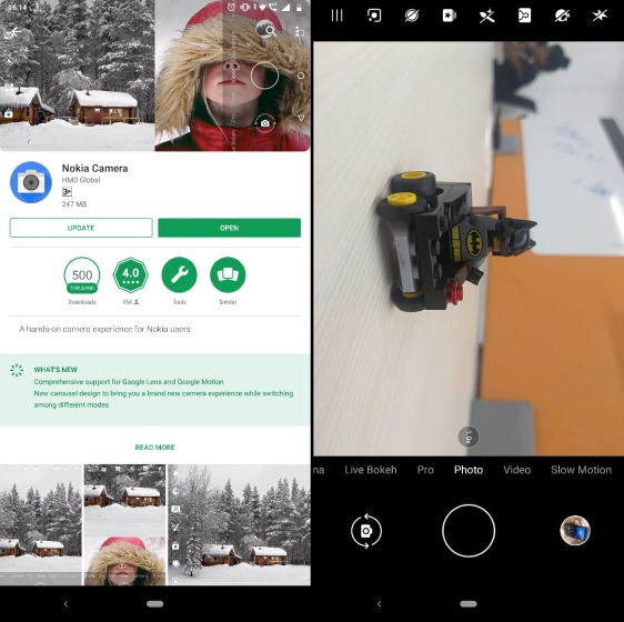 nokia camera ui new