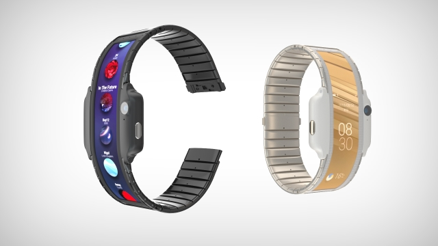 Nubia α is A Concept That Puts a Smartphone in a Wearable