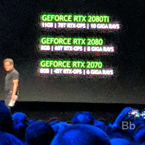 Nvidia Announces GeForce RTX 2070, RTX 2080 and RTX 2080 Ti, Starting at $599
