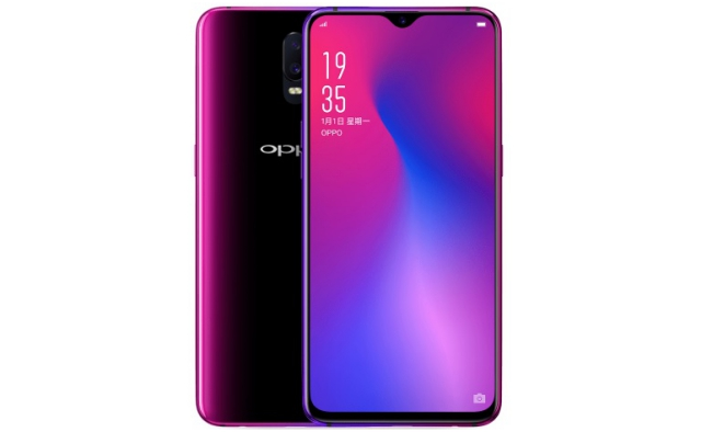 oppo f9 teardrop notch