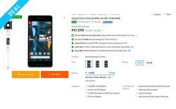 pixel 2 xl flipkart deal web image
