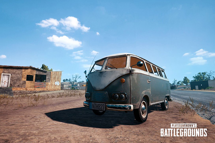 Iconic PUBG Van Used to Distribute Free Ice Cream and Merchandise in England
