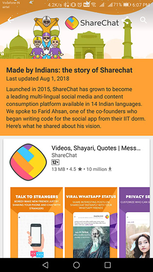 "Google Play Store Showcases Apps ""Made by Indians"" Ahead of Independence Day"