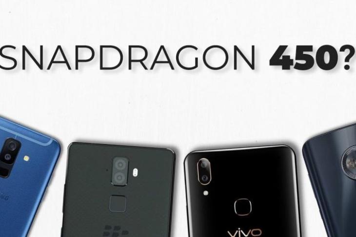 snapdragon 450 on mid-range phones non-sense youtube