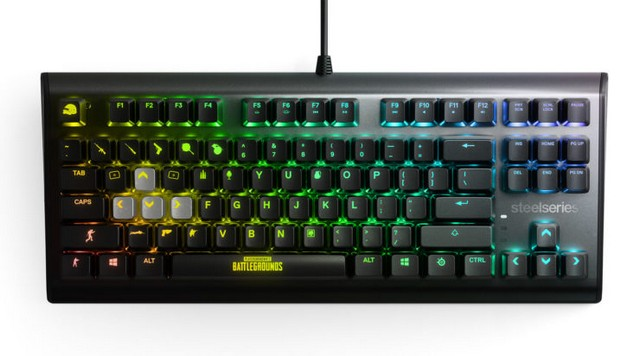 SteelSeries Unveils Limited Edition PUBG Gaming Keyboard, Headset, Mouse and More