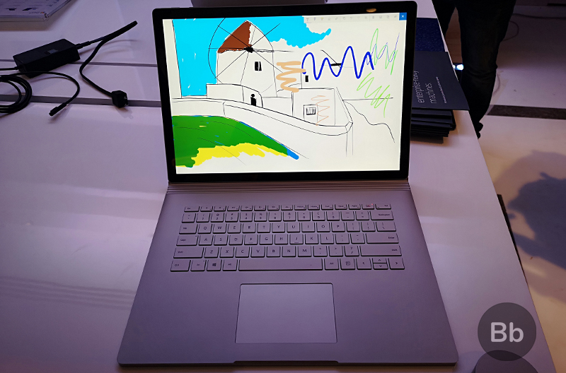 Microsoft Surface Book 2 and Surface Laptop Hands-On: A Rich Windows