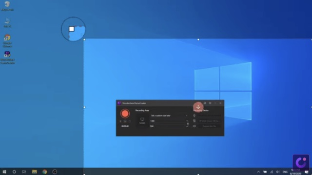 wondershare demo creator game recording software for pc
