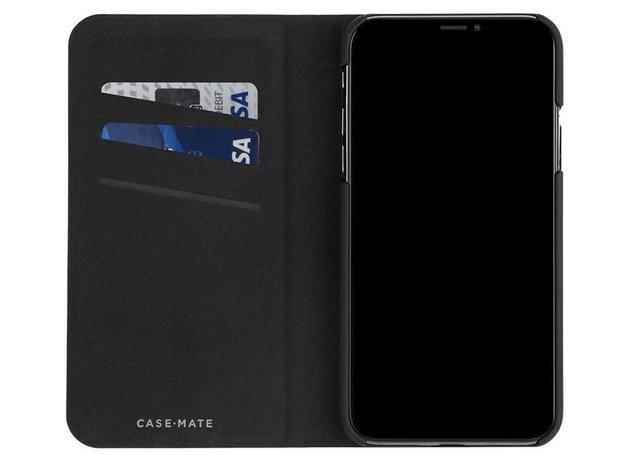10. CaseMate iPhone XS Max Wallet Folio Case