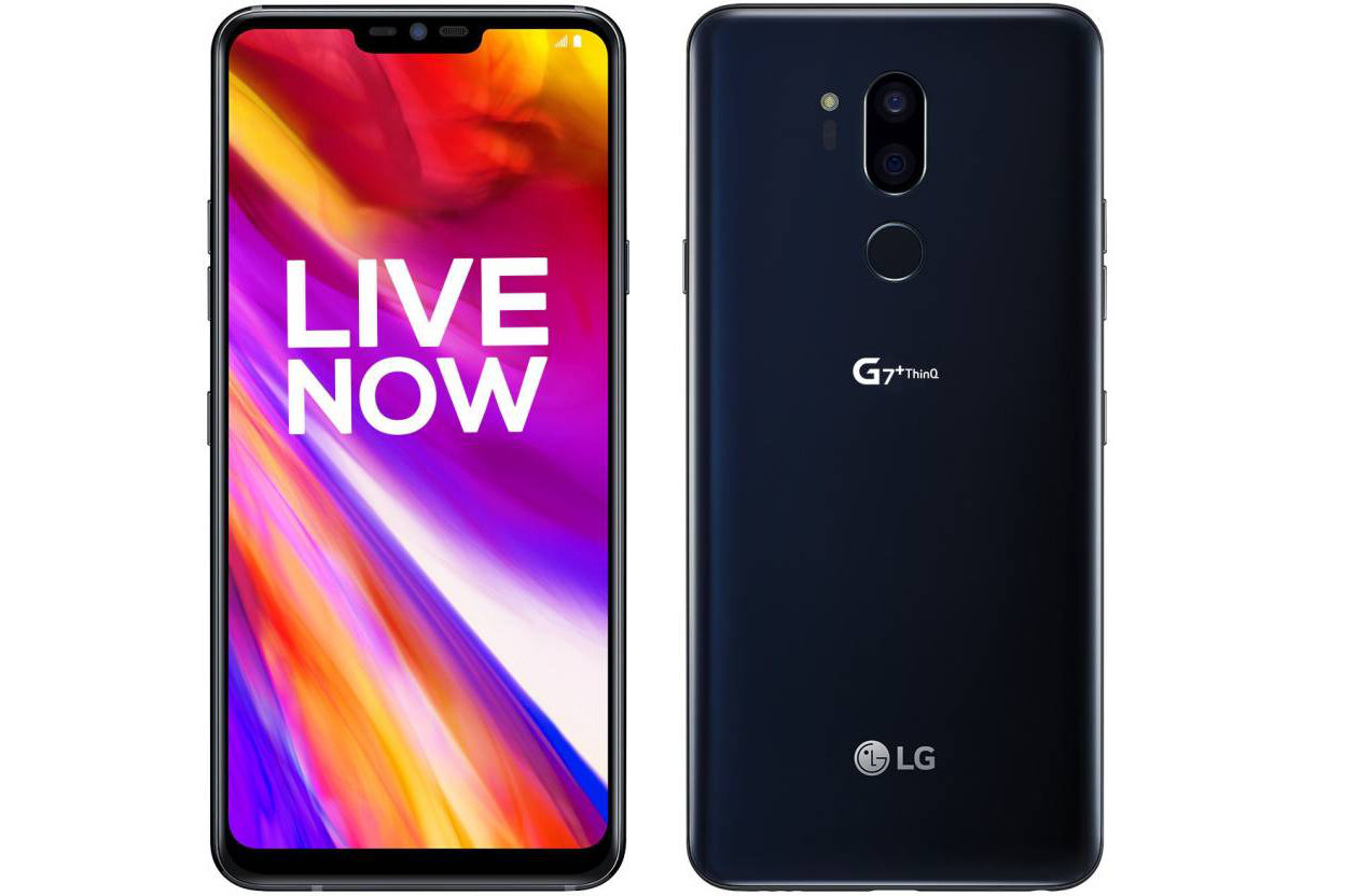 Best Budget Smartphones with Face Unlock: LG G7+ ThinQ