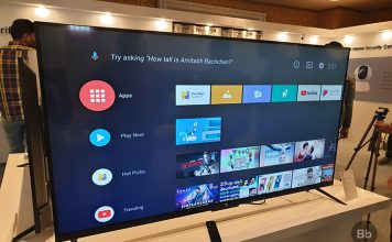Mi TV Android TV stock experience