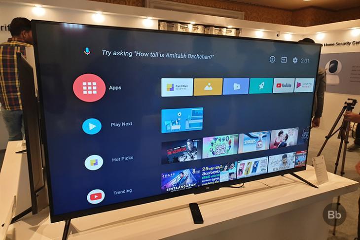 Mi TV Android TV stock experience