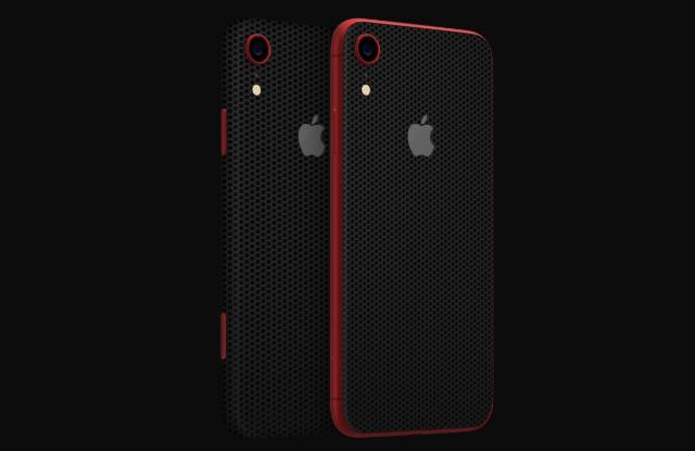 3. Dbrand Black Matrix Skin for iPhone XR