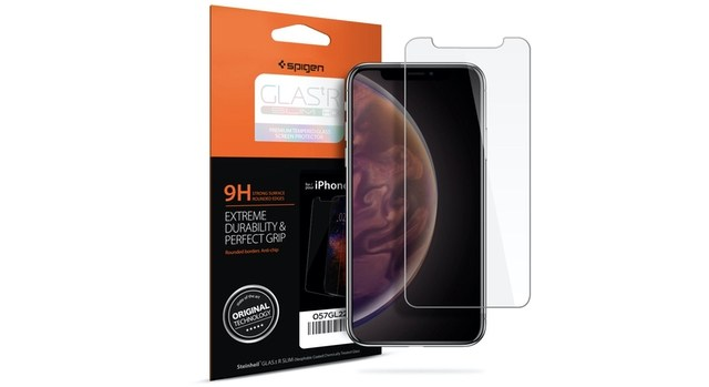 3. iPhone XS Screen Protector by Spigen