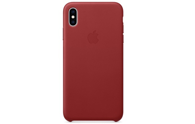 4. iPhone XS Max Leather Case by Apple