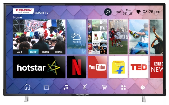 Thomson TV Launches New 50 and 55-inch 4K Smart TVs Starting