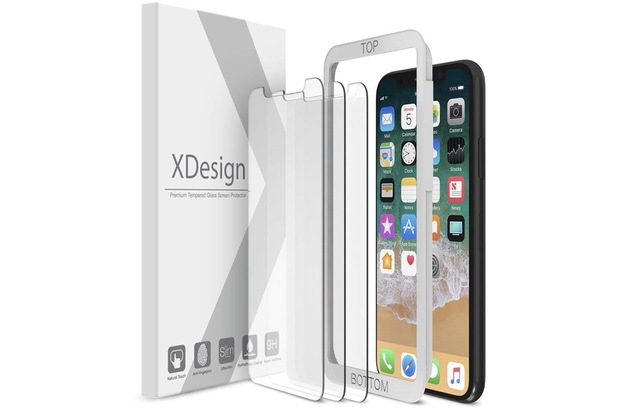 7. XDesign Screen Protector for iPhone Xs
