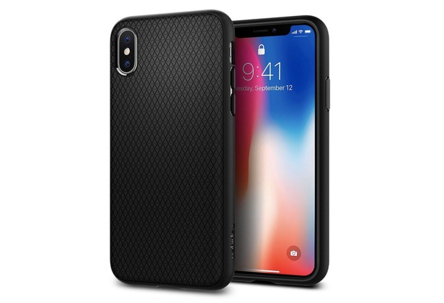 8. Spigen Liquid Air Armor Case for iPhone Xs