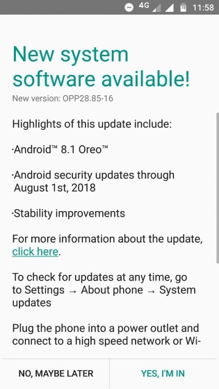 Moto G5 in India Finally Gets Android 8.1 Oreo Update