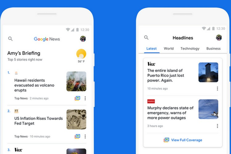Google News Gets Data-Saving Features, Optimized For Android Go