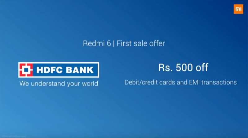 Redmi 6 Series in India: Here Are The Launch Offers