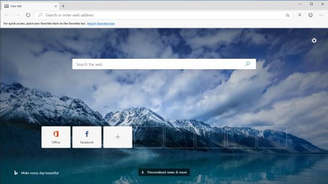 Mirosoft Edge on Chromium - Best Google Chrome Alternatives