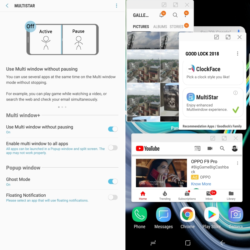 Samsung's MultiStar Module for Good Lock Takes Split Screen