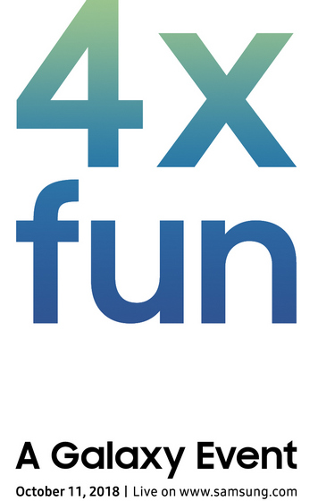 Samsung Teases '4X Fun' At Galaxy Event on October 11