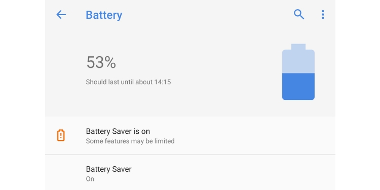 android pie battery saver
