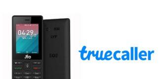 truecaller JioPhone