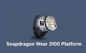 Snapdragon Wear 3100 smartwatch chipset