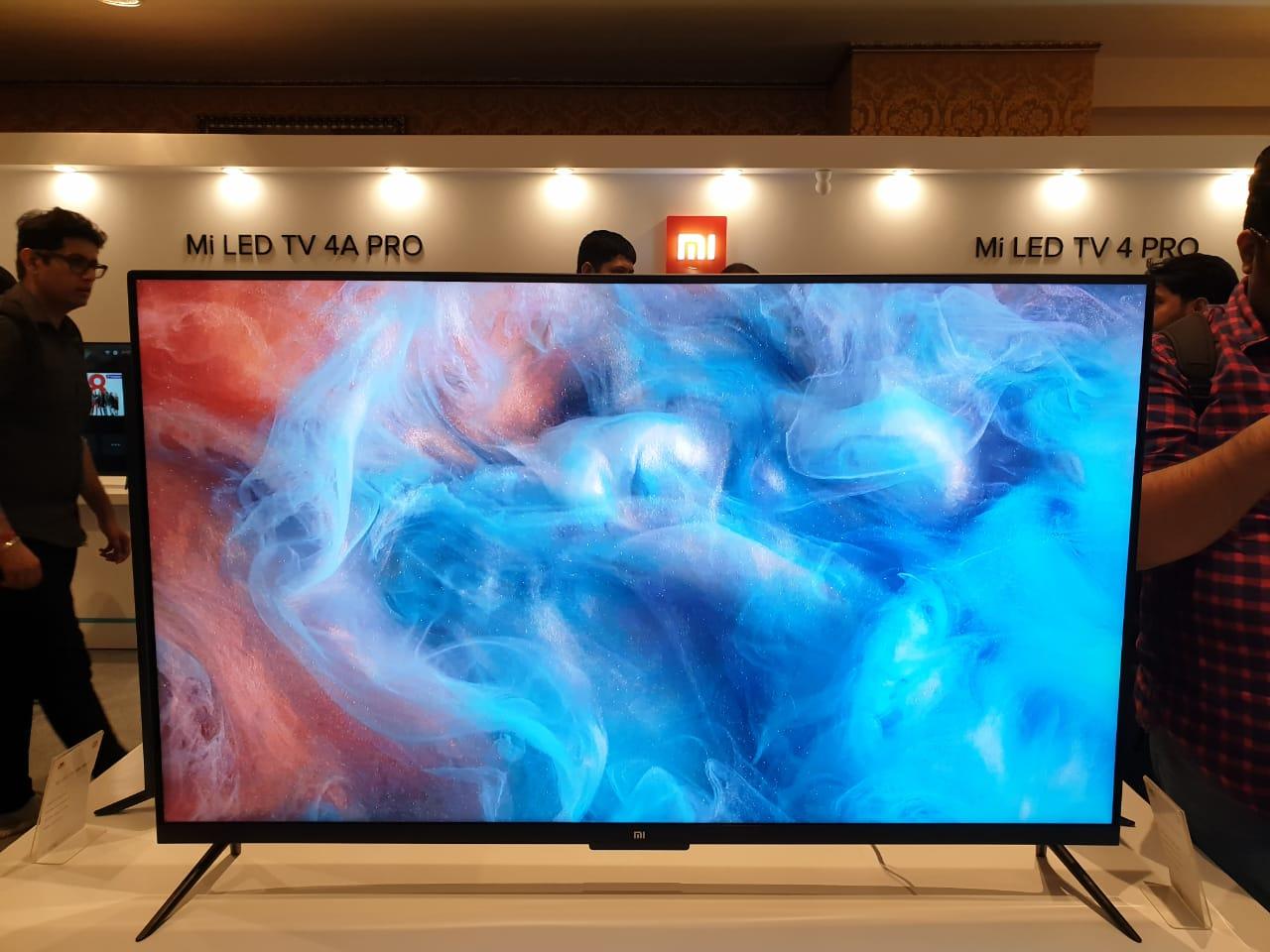 Xiaomi's Mi TV 4 Pro, 4A Pro, 4C Pro Come to India, Starting
