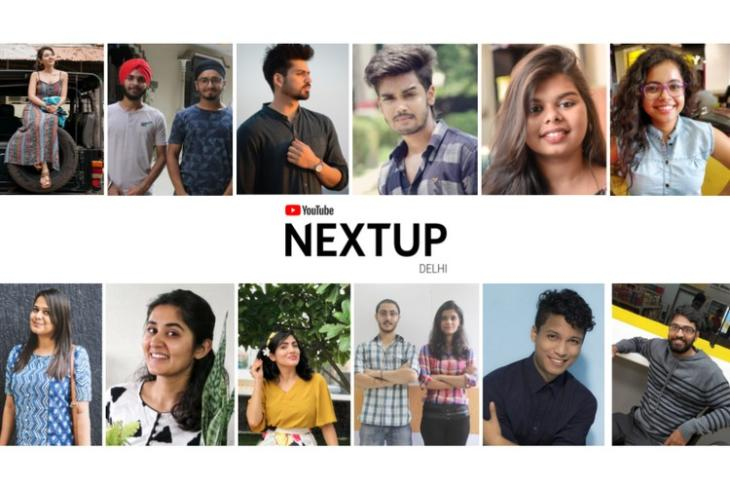 YouTube NextUp Delhi 2018 website
