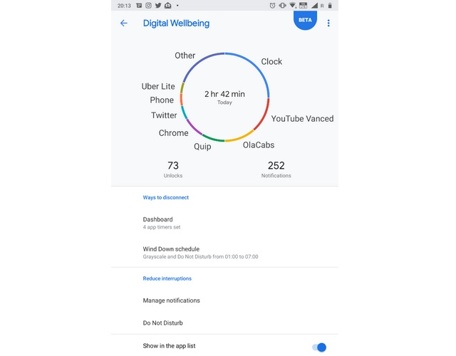 Digital Wellbeing Now Available For Nokia 7 Plus Android Pie Beta Users