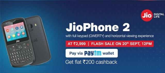 YouTube Arrives on JioPhone; Paytm Offers Rs 200 Cashback on JioPhone 2
