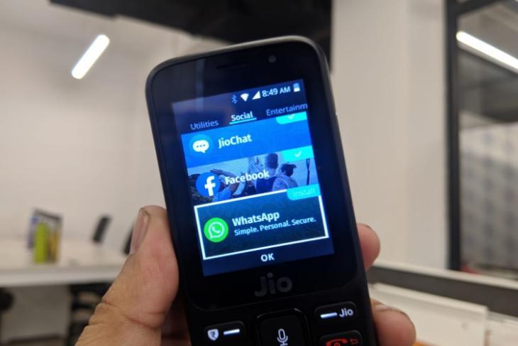 jiophone whatsapp featured