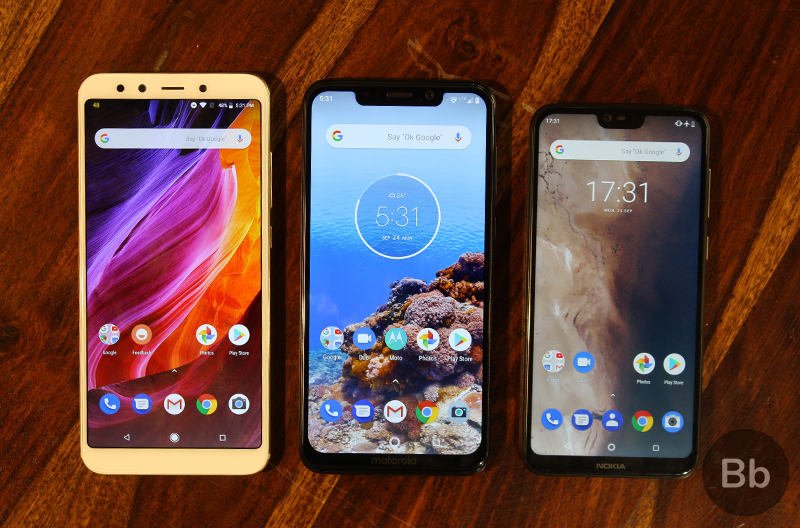 Moto One Power vs Mi A2 vs Nokia 6.1 Plus: A Quick Comparison
