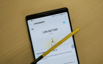 note 9 s-pen battery life test