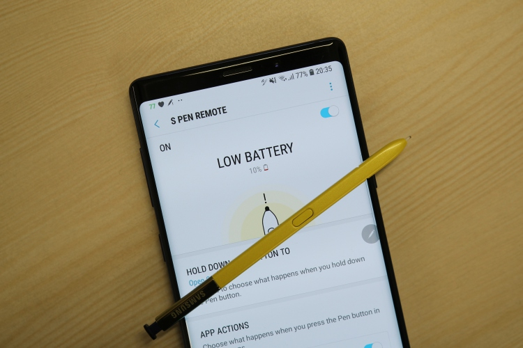 Samsung Galaxy Note 9 S Pen Battery Life: A Supercharged Stylus That