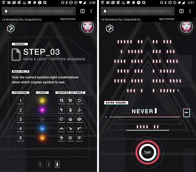 OnePlus Crackables: Challenging and Cryptic Puzzles with a Massive Prize