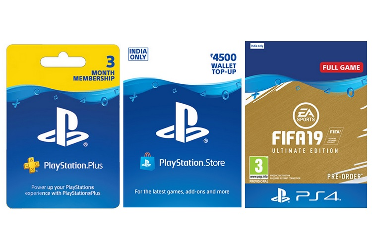 PlayStation Store Prepaid Cards for Games, Add-ons Now