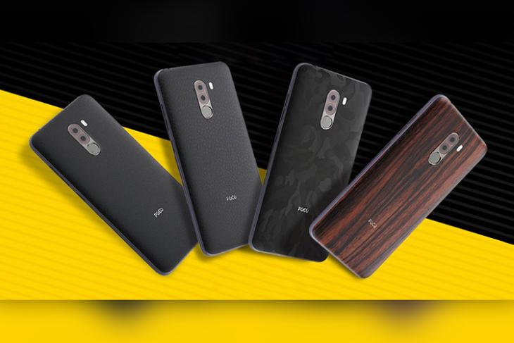 Official Poco F1 Skins by Xiaomi to be Available Starting Tomorrow
