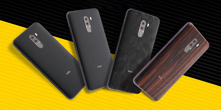 Official Poco F1 Skins by Xiaomi to be Available Starting Tomorrow, Priced at Rs 299