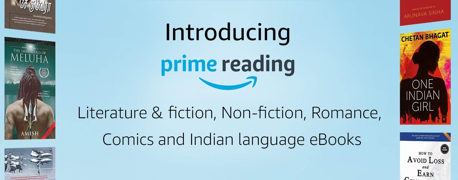 Amazon Prime Reading Launched in India