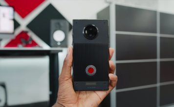 red hydrogen one unboxing and hands-on
